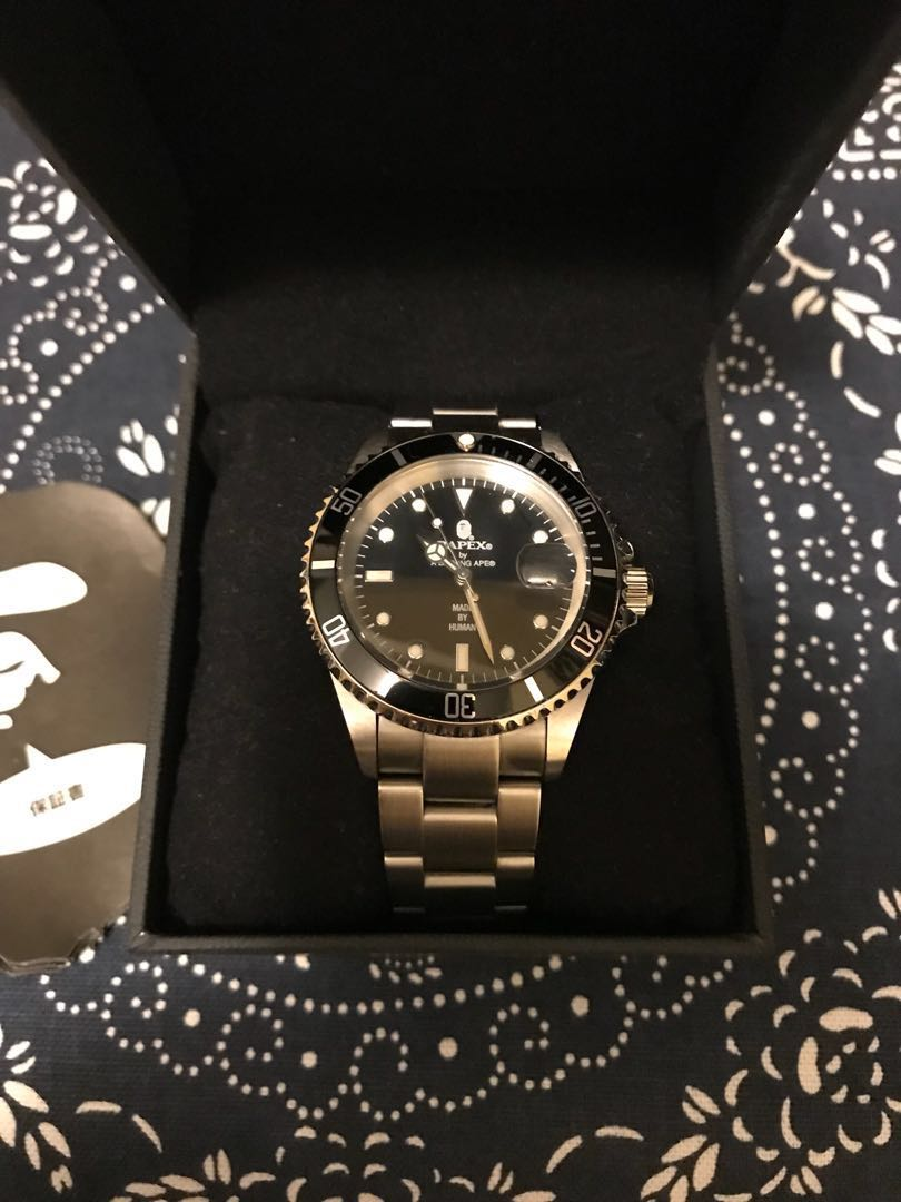 Bapex type 1 watch 猿力士手錶 (not Rolex)