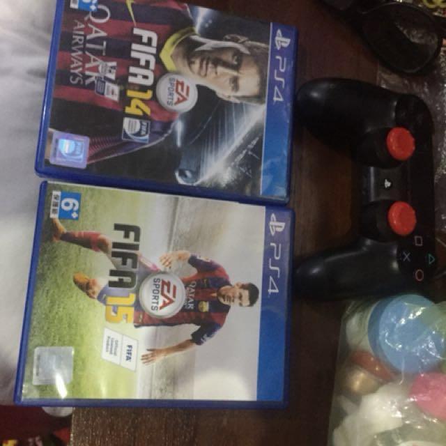 Bd PS4 Fifa 14 & 15