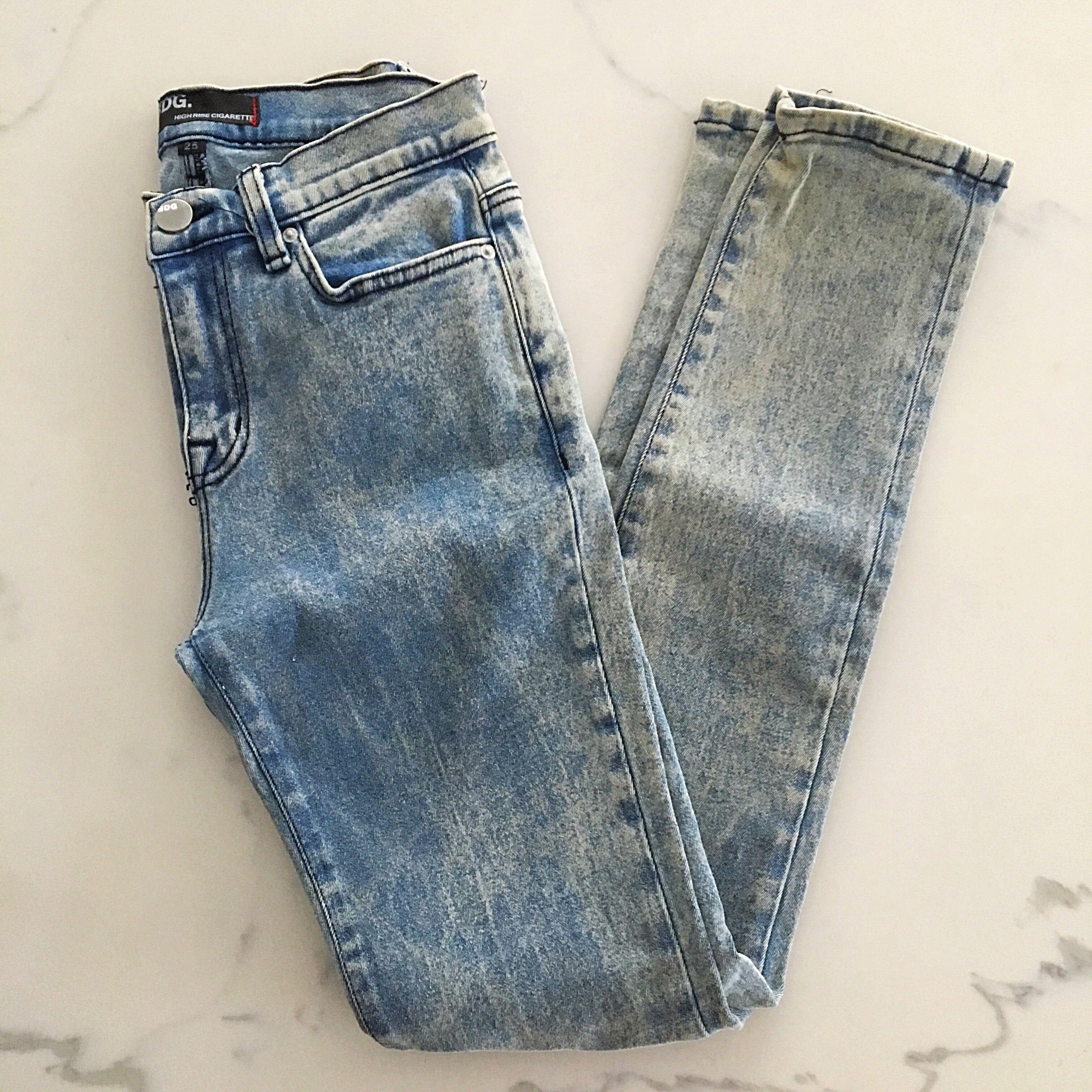 BDG High Rise Cigarette Skinny Jeans