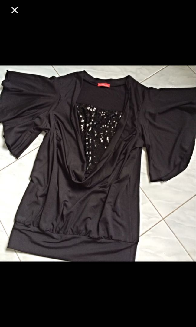 Black sequins Blouse