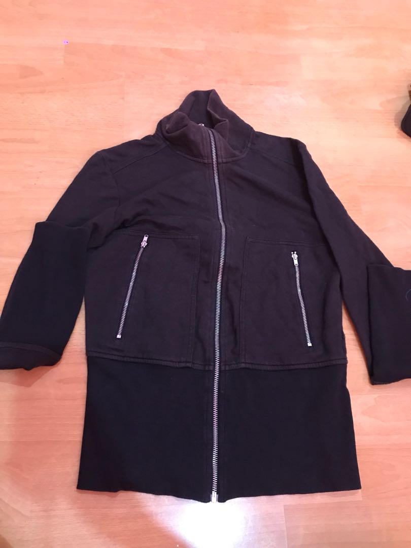 Black Zipper Jacket
