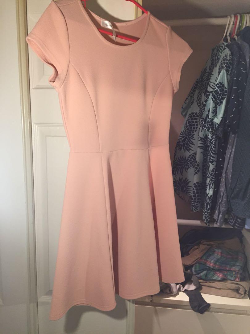Bluenotes Pink skater dress