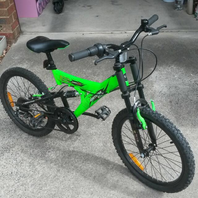 BMX Style mono-shock bike, Sports, Bicycles on Carousell