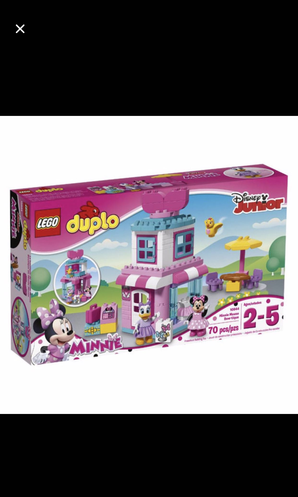 Bn Lego Duplo 10844 Minnie Mouse Boutique Toys Games Bricks