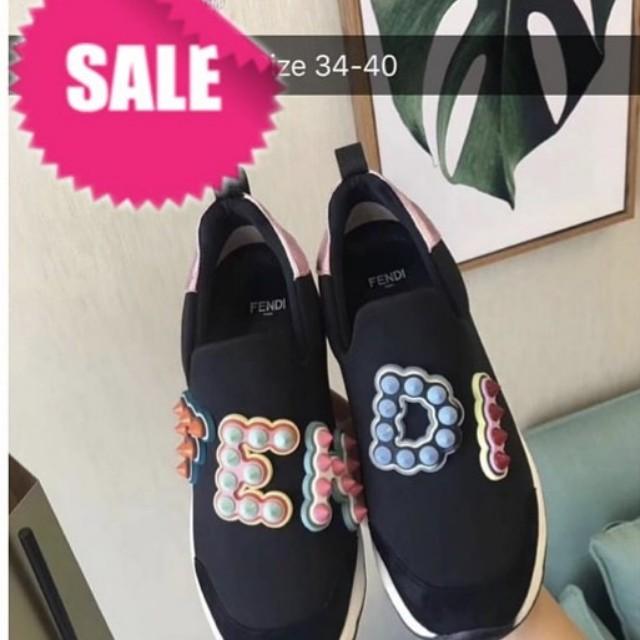 Bnew Fendi Sneakers Rubbershoes 40