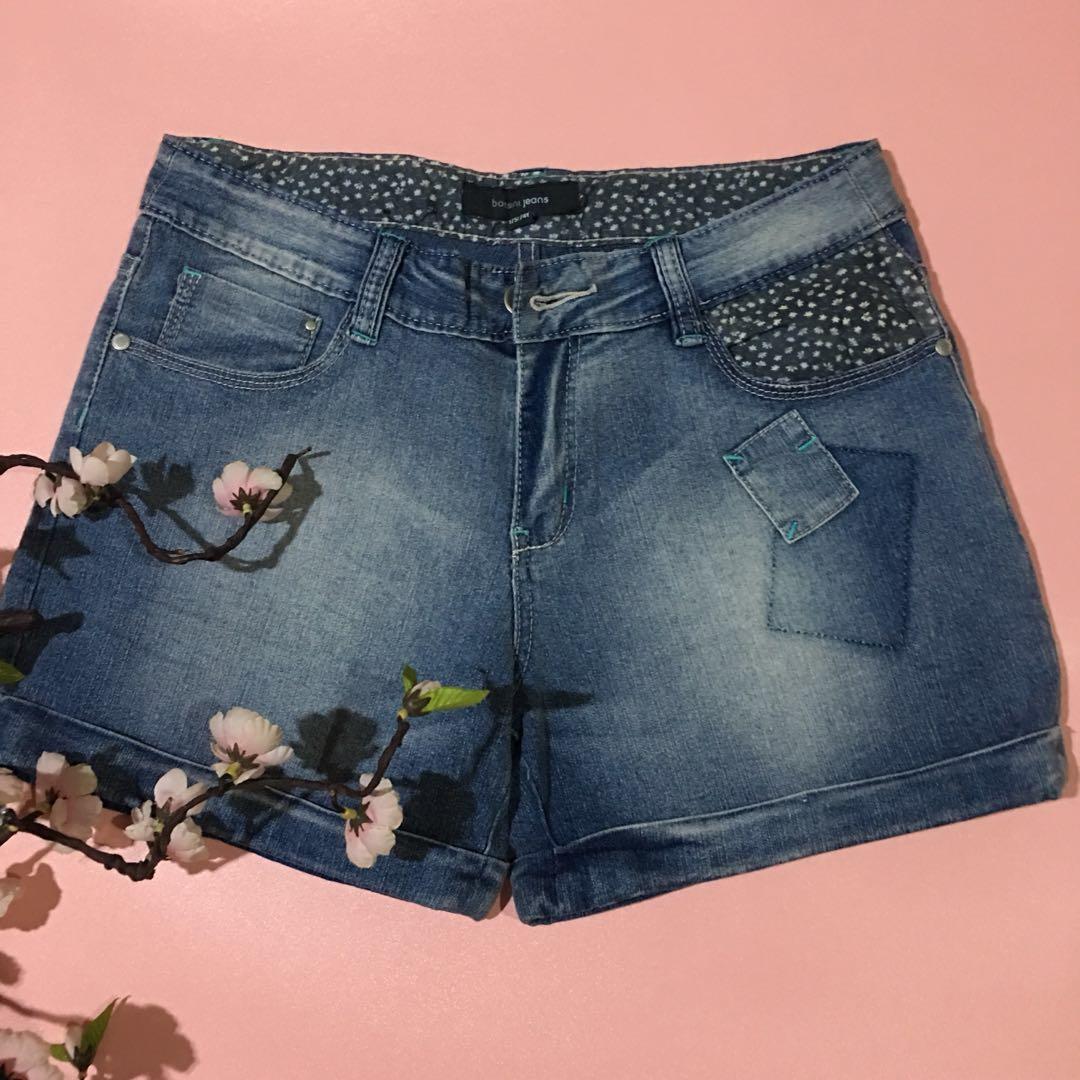 Bossini jeans short pants