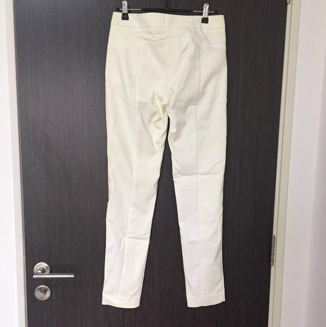 d51e569a6ef1 Brand new Mango formal white long pants  trousers