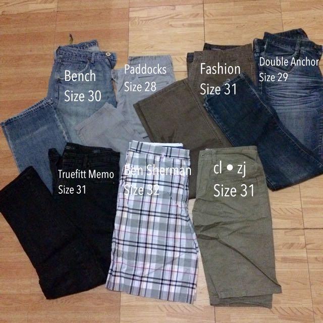 Branded Denim Pants for Men