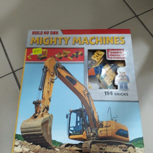 Build my own mighty machine -lego and book