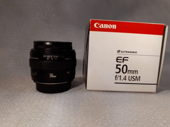 Canon Lense 50 F1.4 USM