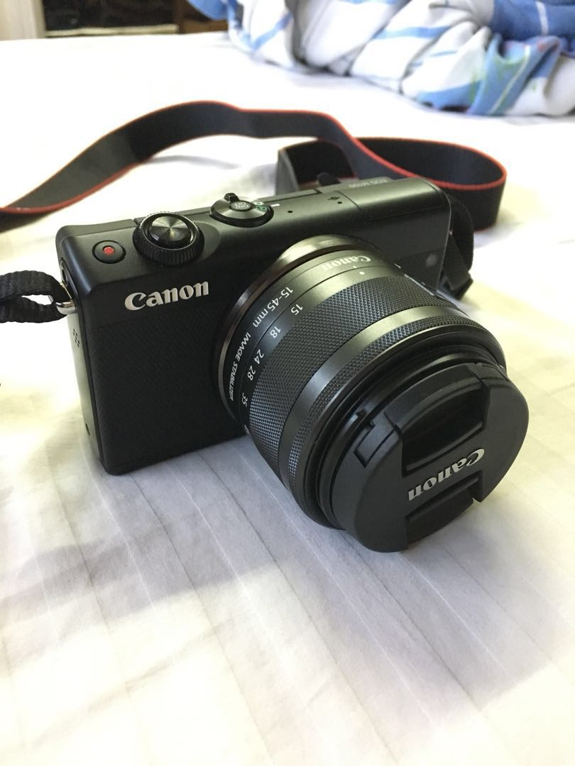 Canon M100 Mirrorless Camera + Freebies