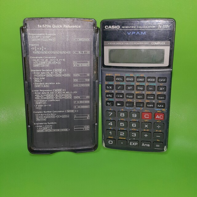 Casio Scientific Calculator Books Stationery Stationery On Carousell