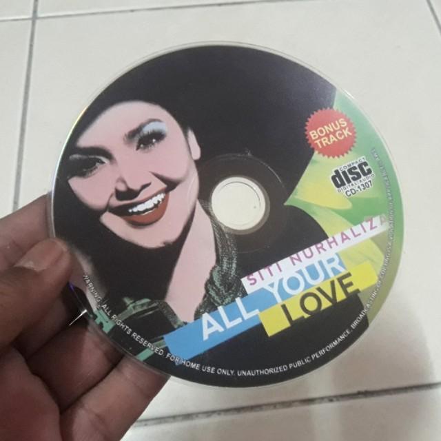 CD SITI NURHALIZA - All Your Love