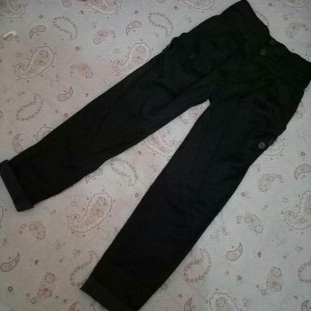 Celana satyn black