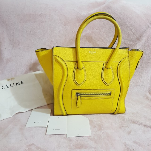 Authentic Celine Yellow