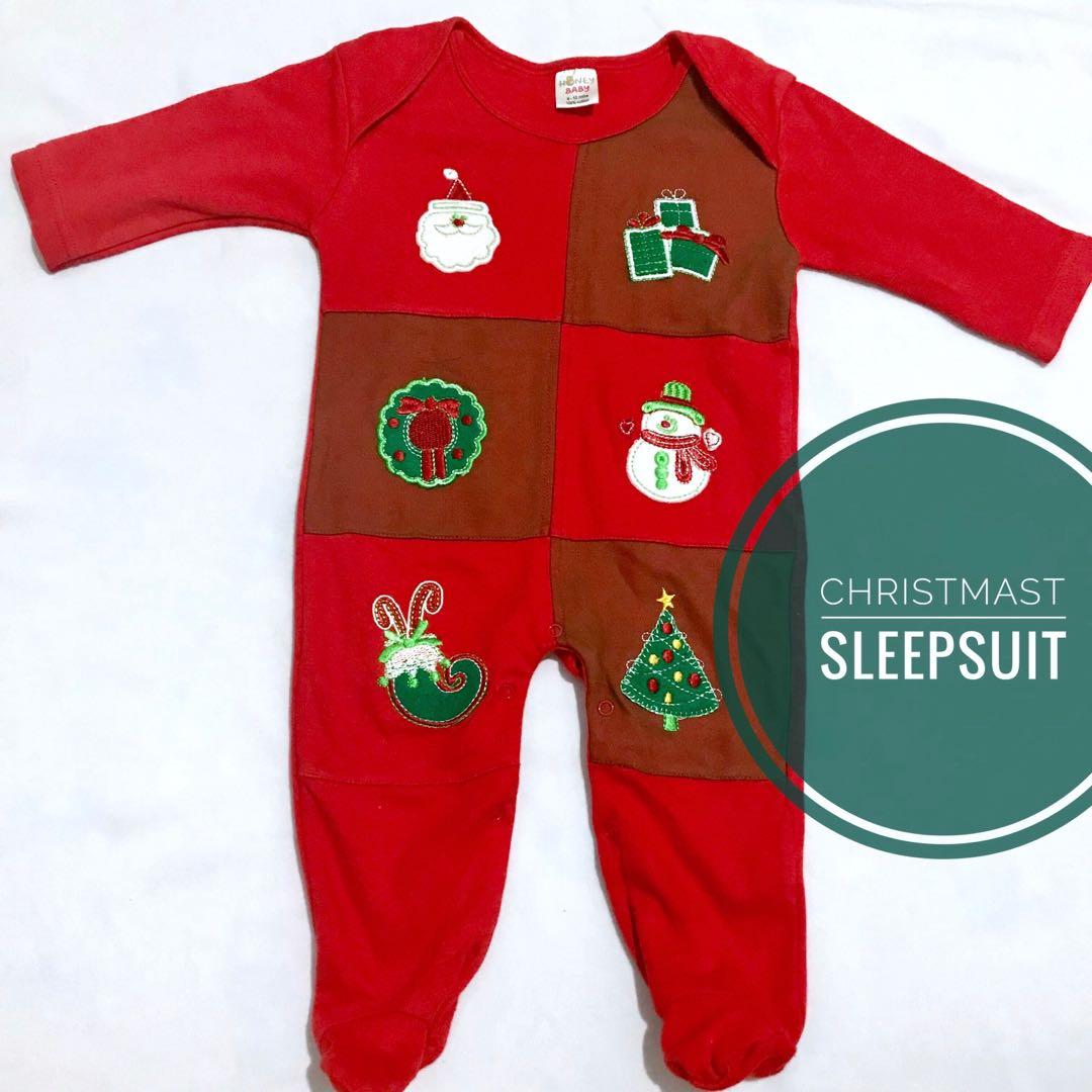 Christmas Sleepsuit