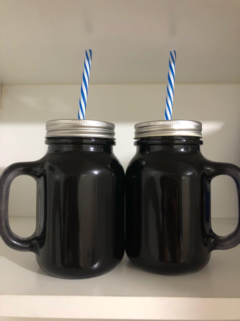 Couple Mason Jars