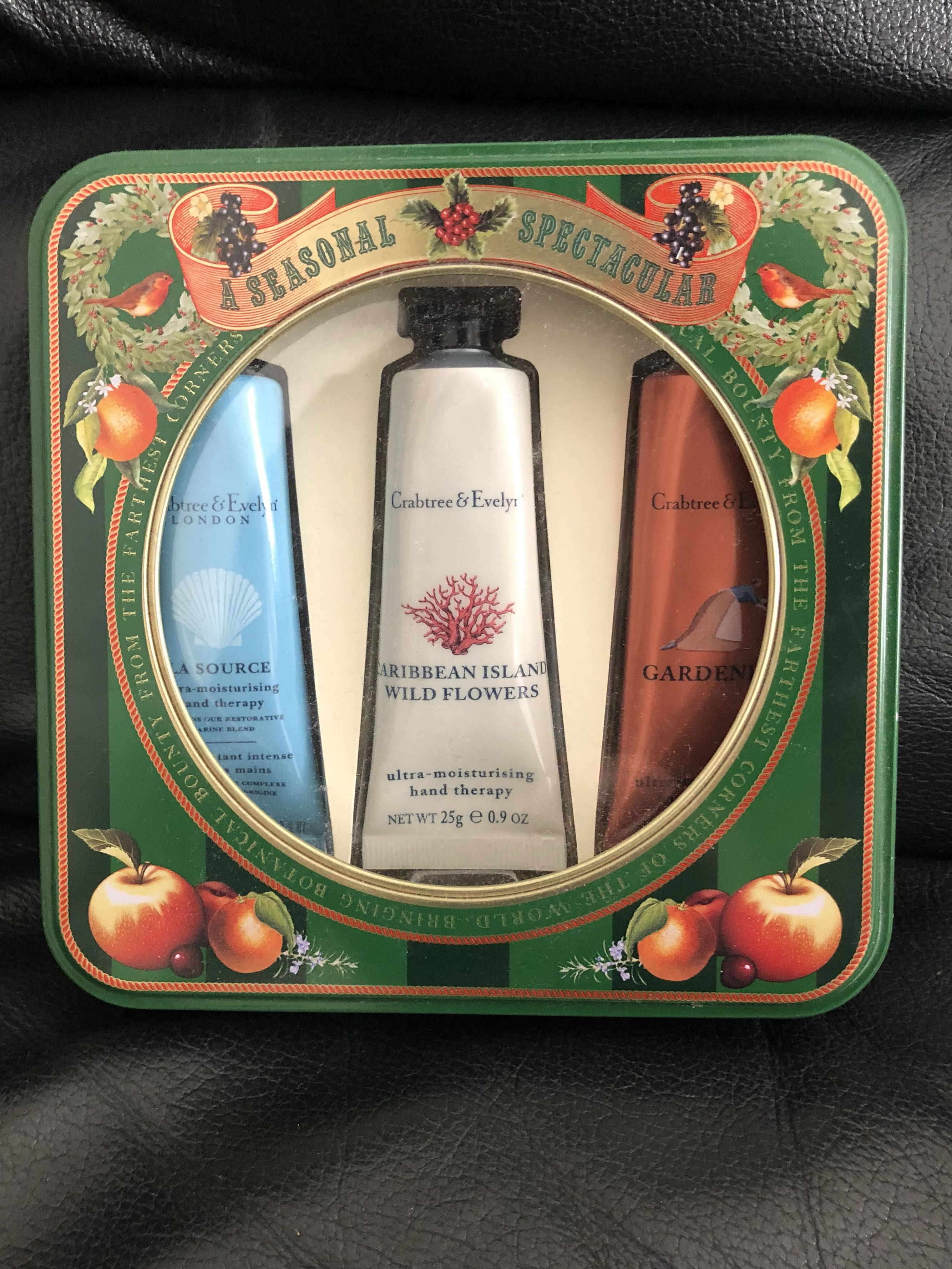 Crabtree & Evelyn hand cream gift set