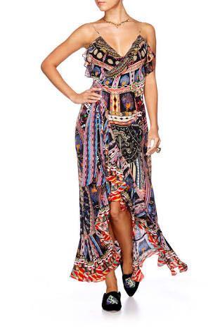 Current season Camilla Dancing on my own frill wrap dress Sz M or 10/12