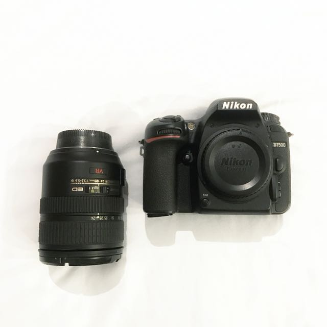 D7500 Body and Lens