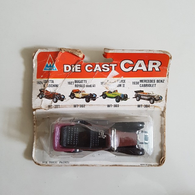 diecast car tintoy isotta faschini