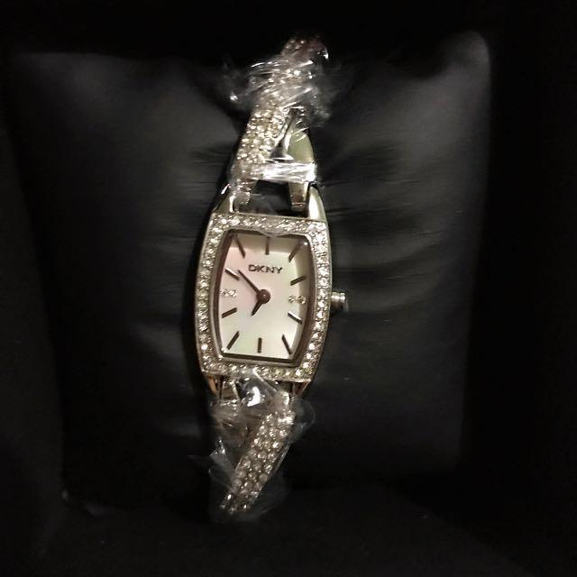 DKNY twisted Bangle Watch