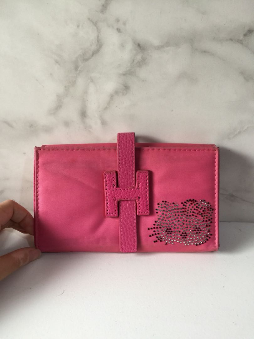 DOMPET KARTU - CARD WALLET logo Hermes HELLO KITTY