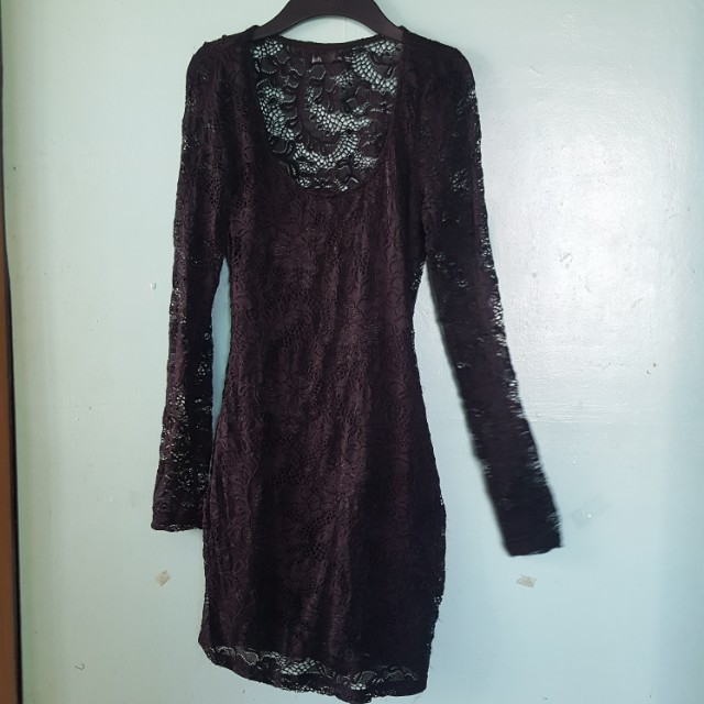 Dotti Black Bodycon dress (preloved)