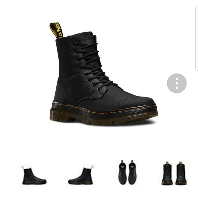 Dr. MARTENs Combs Nylon Boots 67dee5cff