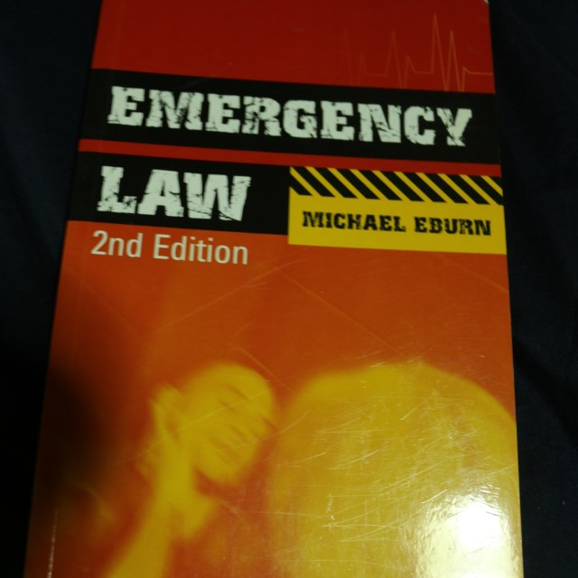 Emergency Law 2nd edition textbook