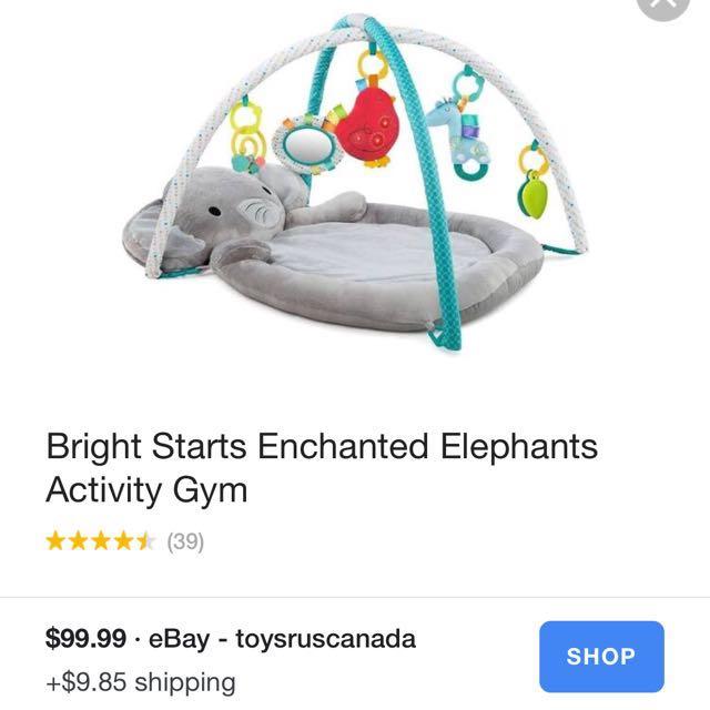 Enchanted Elephant Playmat