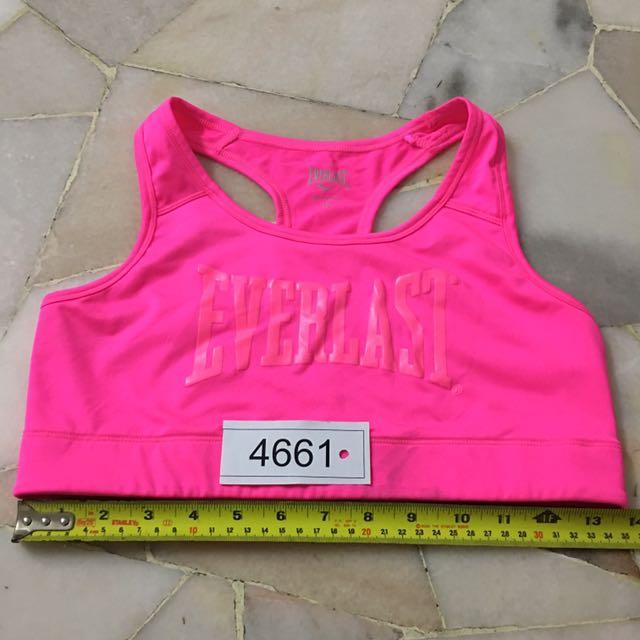 Everlast sport bra non padded size 12 no 4661