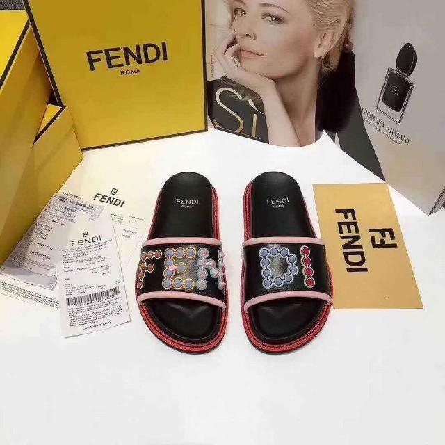 Fendi Slides Sandals 40