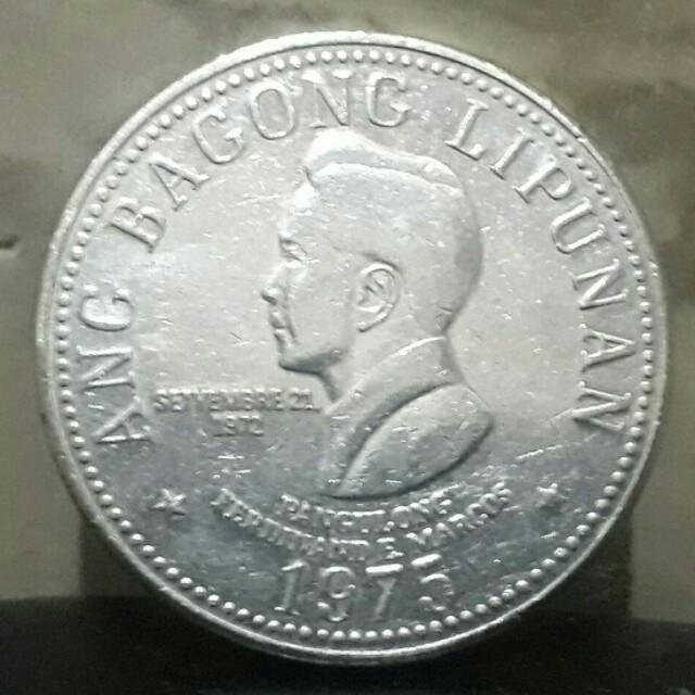 ferdinand marcoss 1975 5 piso coin