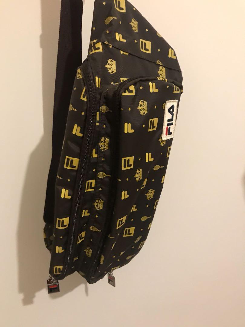 Fila monogram bag
