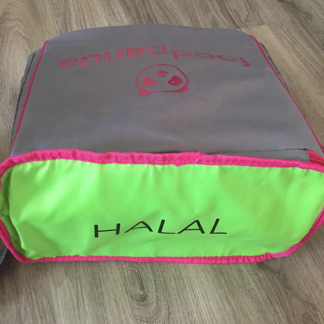 Food Panda Delivery Thermal Bag - Pink Model