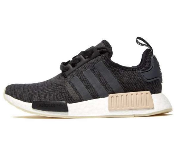 f2baa6479ad FREE DELIVERY  Adidas NMD R1 Black, Women s Fashion, Shoes on Carousell