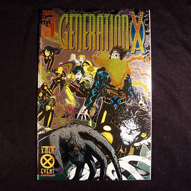 GENERATION X #1 (1994 Marvel) [Chromium Wrap-around Cover]