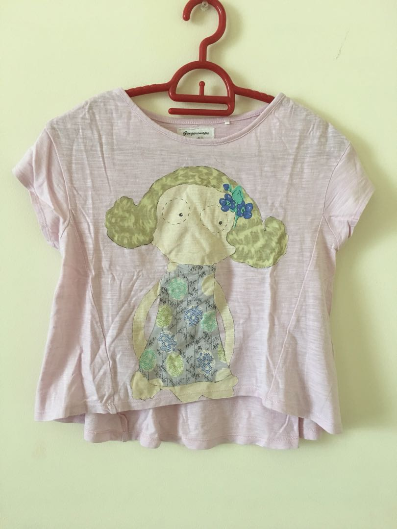 Gingersnaps croup tee