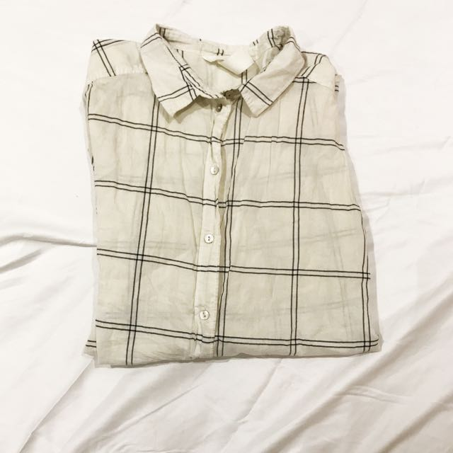 Grid Flannel