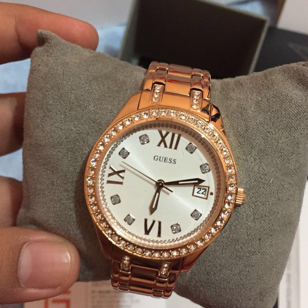 GUESS ROSEGOLD ORIGINAL SALE