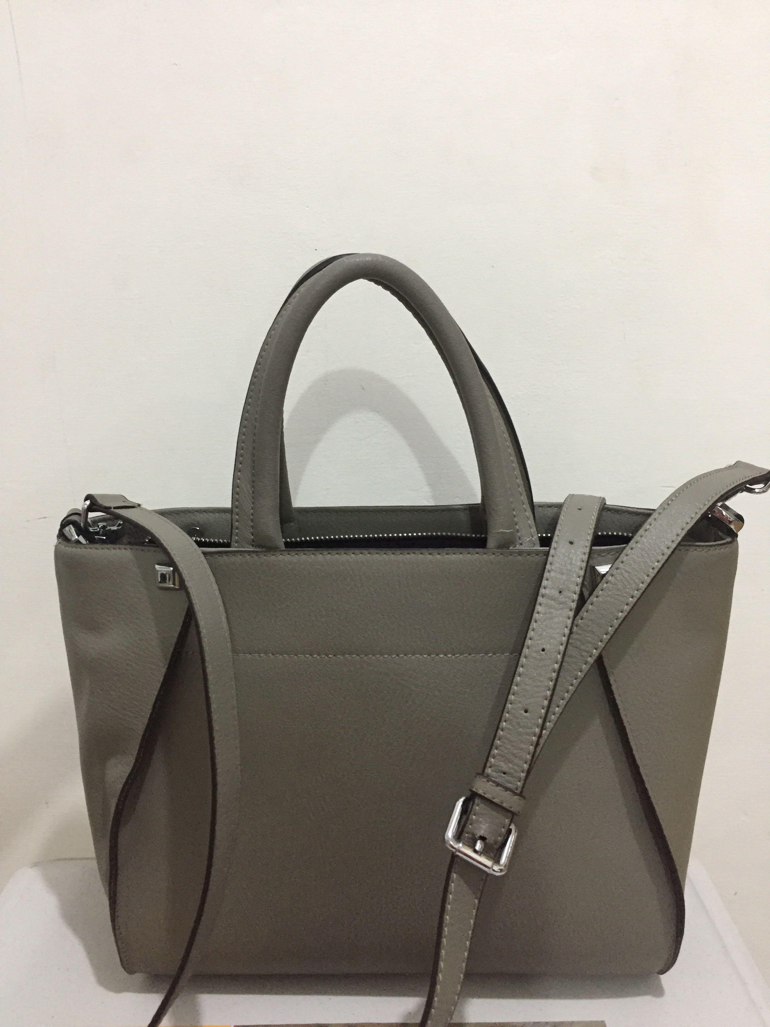 Hand/shoulder Bag Grey