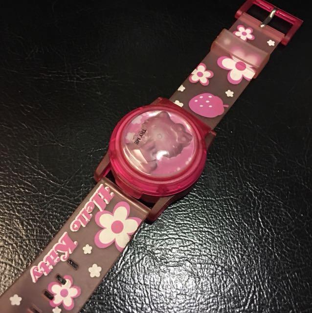 hello kitty兒童造型錶