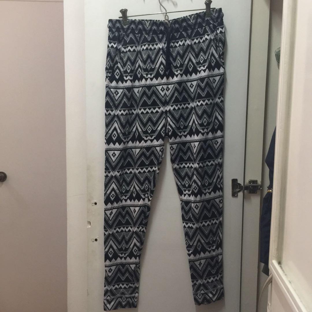 H&M Aztec Printed pants