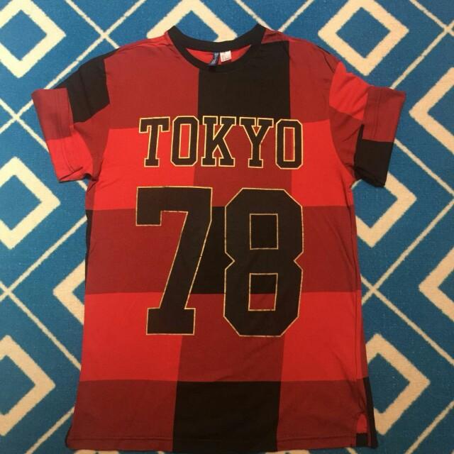 HnM Red Tshirt