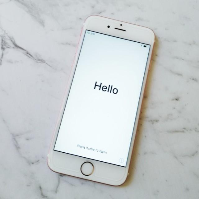 iPhone 6S 128GB Rose Gold Unlocked
