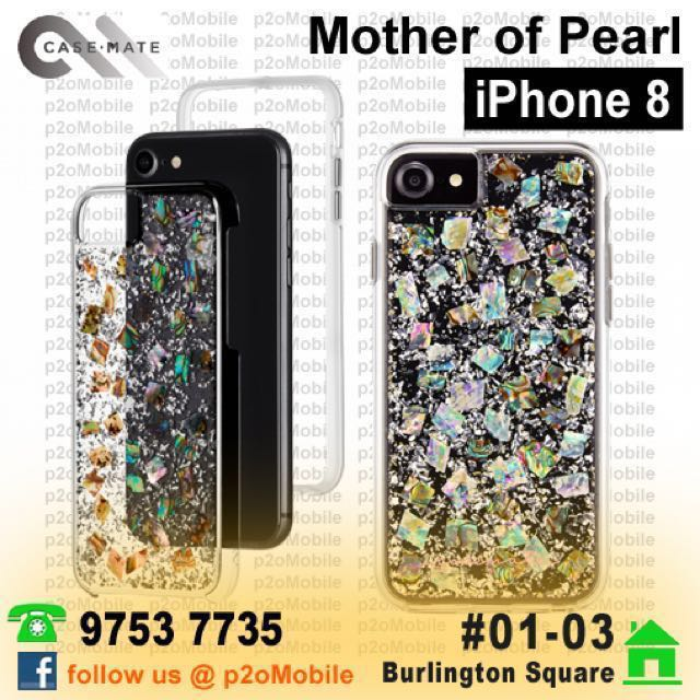 new arrival ba3c0 355a0 [iPhone 8] Case-Mate Mother of Pearl for iPhone 8/7/6S/6