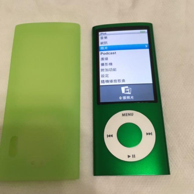 iPod nano 5代 綠色 8GB