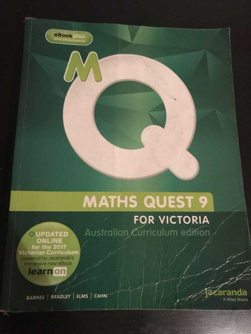 Jacaranda Math Quest 9