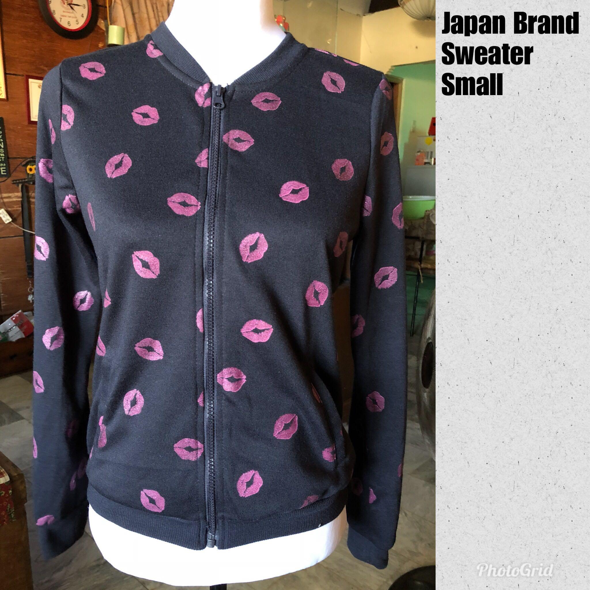Japan brand sweater